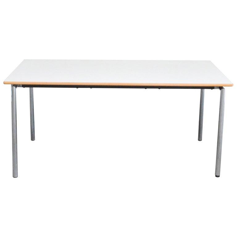 Flex Office Folding Table Søren Nielsen & Thore Lassen Für Randers Danish Modern For Sale