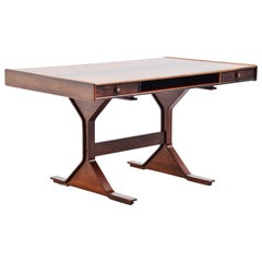 Gianfranco Frattini Rosewood Writing Desk Bernini, 1957