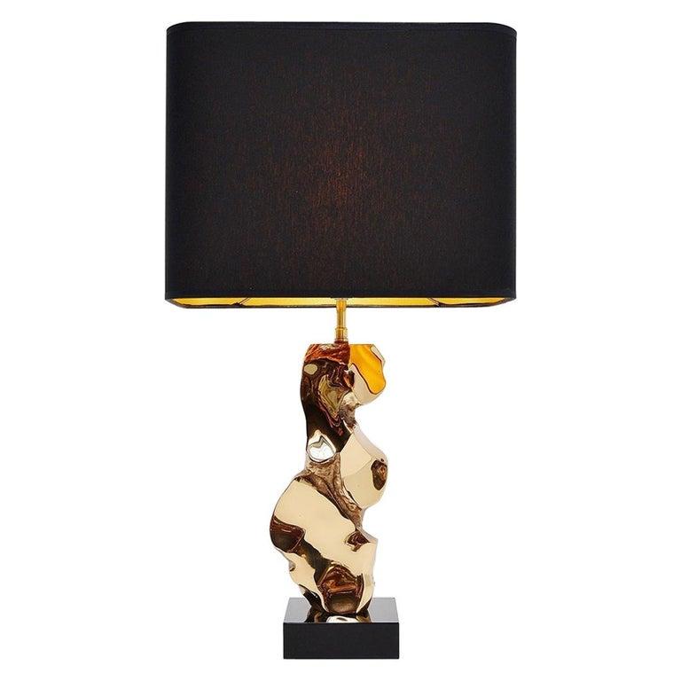 Michel Jaubert Sculptural Table Lamp, France, 1970 For Sale