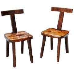 Olavi Hanninen Side Chairs, Finland, 1950