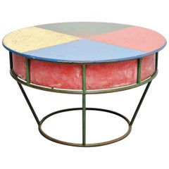 Playful Garden Table, France, 1950