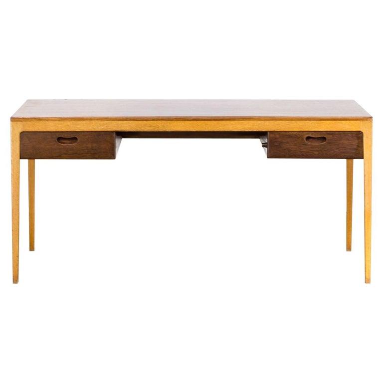 1960s Hartmut Lohmeyer Executive Writing Desk for Wilkhahn For Sale