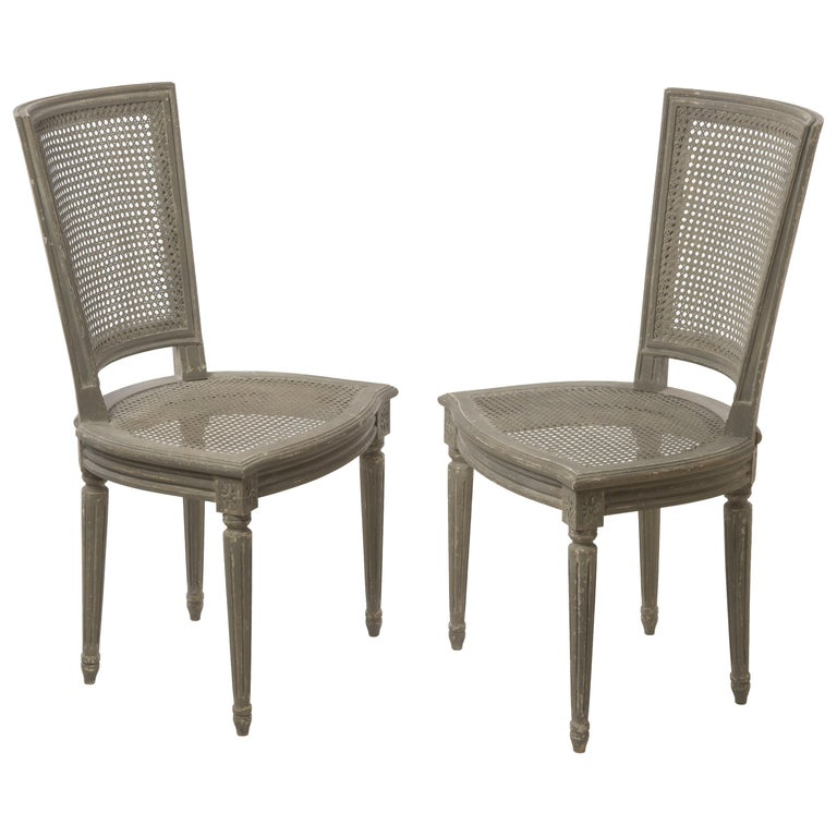 Pair of Belgian Side Chairs For Sale