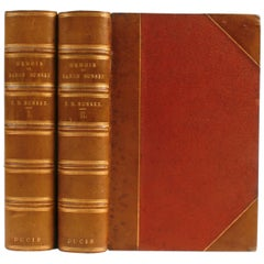 Memoir of Baron Bunsen by Frances Baroness Bunsen, First Edition, 1868