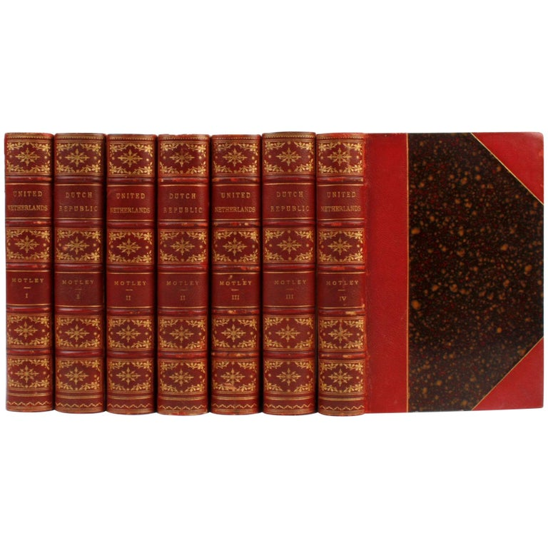7 Volume Leather Bound Set, Dutch Republic and United Netherlands, First Edition For Sale