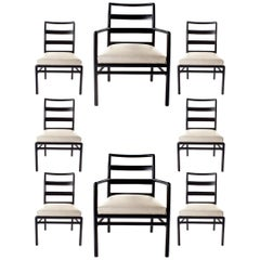 Set of 8 Midcentury Dining Chairs by TH Robsjohn Gibbings