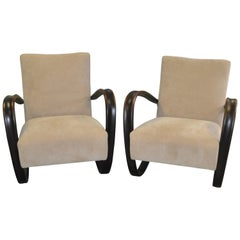 Pair of Armchairs by Jindrich Halabala, 1930s
