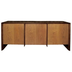 Minimalist Two-Tone Sideboard by TH Robsjohn Gibbings
