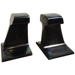I Beam Metal Bookends