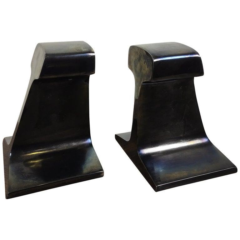 I Beam Metal Bookends For Sale
