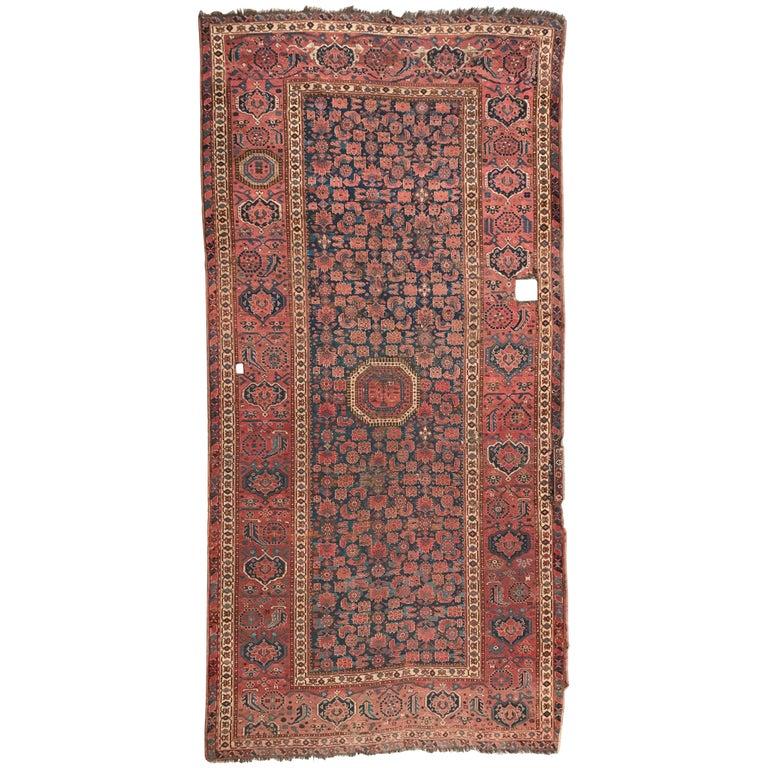 Antique Afghan Rugs: Antique Long Beshir Afghan Rug For Sale At 1stdibs