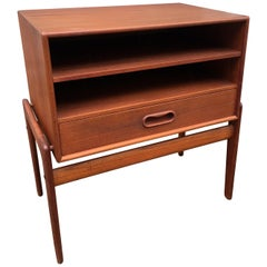 Arne Vodder Teak Nightstand for Vamo Sonderborg