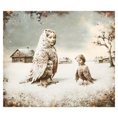 """Sergei Rimoshevski """"Lost"""" Oil on Canvas"""