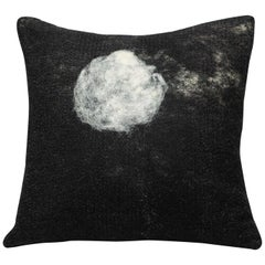 JG Switzer Black Wool Luna Pillow - Heritage Sheep Collection