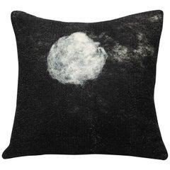 Luna handwerklichen Wolle Kissen, große JG Switzer Nachlass Schafe Sammlung