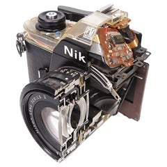 Nikon EM Factory Cut-Away, Camera Store Display