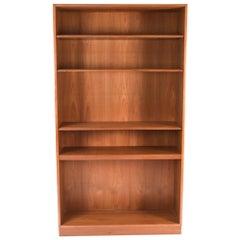 Midcentury Teak Bookcase by Børge Mogensen for Søborg Møbelfabrik