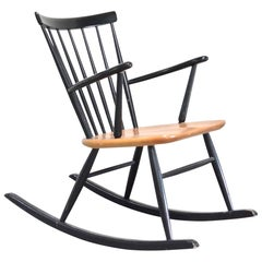 Rocking Chair Rocker Design by Sven Erik Fryklund by Hagafors