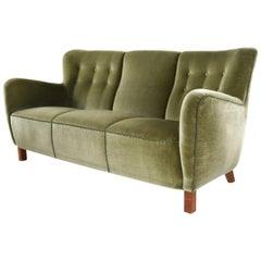 Fritz Hansen Model 1669 Three-Seat Sofa