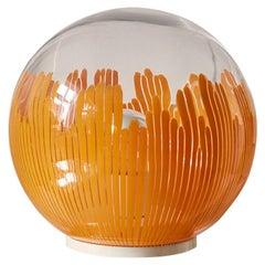 Venini Globe Lamp by Ludovico Diaz de Santillana, 1960s