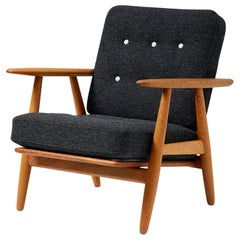 Hans J. Wegner GE-240 Oak 'Cigar' Chair, 1955