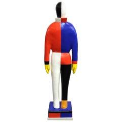 Kazimir Malevich 'Sportsmen' Statue