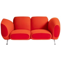"Two-Seat ""Hotel 21"" Sofa by Javier Mariscal for Moroso, Italy, 1997"