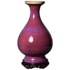 Large Oxblood Vase