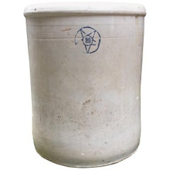 19th Century 20 Gallon Stoneware Crock