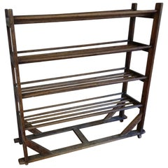 English Shoe Trolley