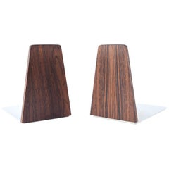 Pair of Kai Kristiansen Teak Bookends