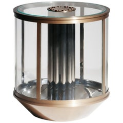 Strobe Side Table