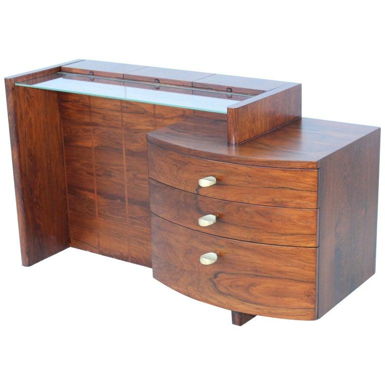 Gilbert Rohde Rosewood Vanity For Sale