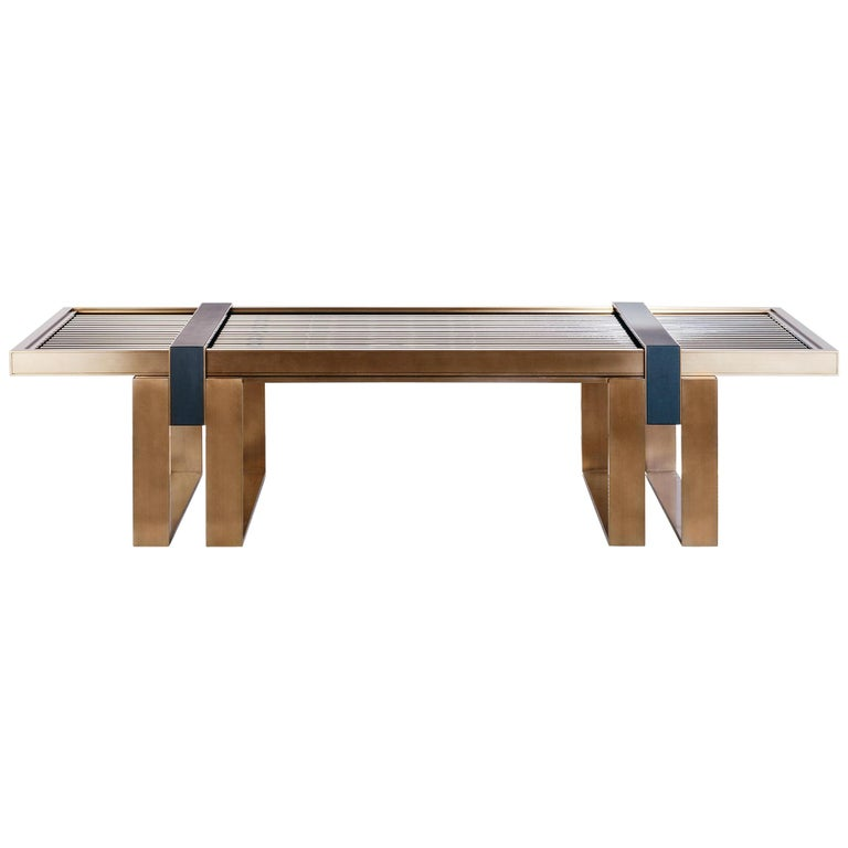 Blainey North Collection Strobe coffee table, new