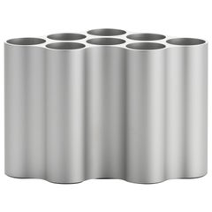 Vitra Small Nuage Métallique Vase in Light Silver by Ronan & Erwan Bouroullec