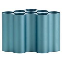 Vitra Kleine Nuage Métallique Vase in Pastell-Blau von Ronan & Erwan Bouroullec