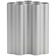Vitra Medium Nuage Métallique Vase in Light Silver by Ronan & Erwan Bouroullec
