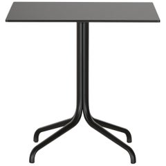 Vitra Belleville Square Table Outdoor in Black by Ronan & Erwan Bouroullec