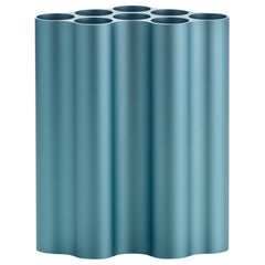 Vitra Medium Nuage Métallique Vase in Pastel Blue by Ronan & Erwan Bouroullec