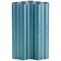 Vitra Large Nuage Métallique Vase in Pastel Blue by Ronan & Erwan Bouroullec