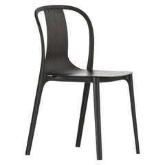 Vitra Belleville Chair in Dark Oakwood by Ronan & Erwan Bouroullec