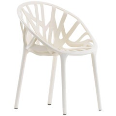 Vitra Vegetal Chair in Cream by Ronan & Erwan Bouroullec