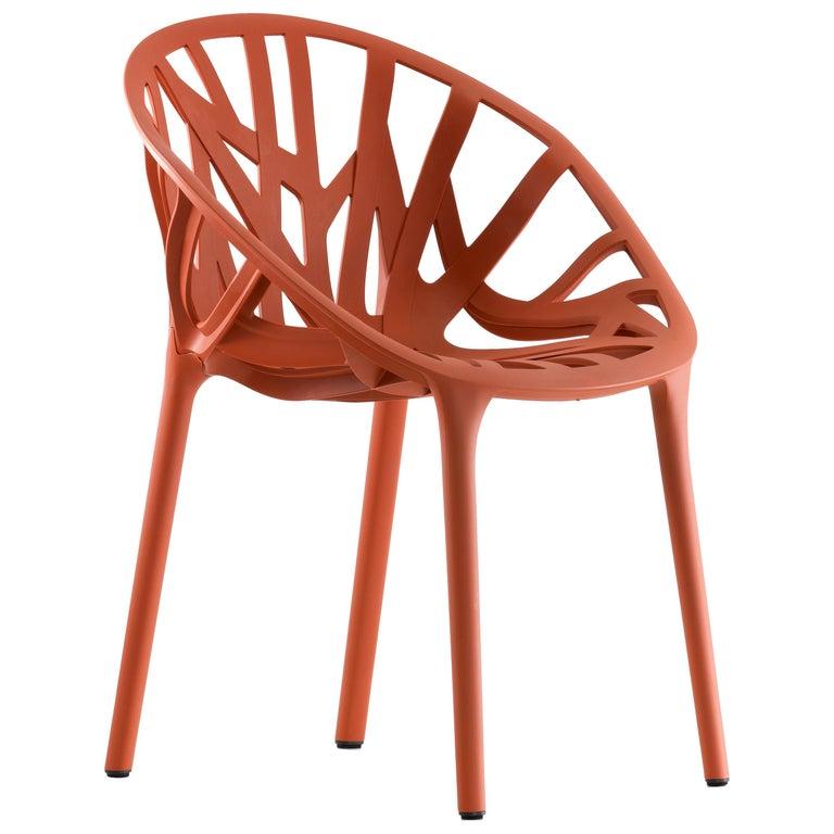 Vitra Vegetal Chair in Brick by Ronan & Erwan Bouroullec