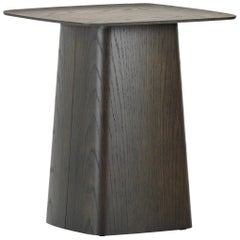 Vitra Medium Wooden Side Table in Natural Dark Oak by Ronan & Erwan Bouroullec