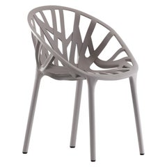 Vitra Vegetal Chair in Mauve Grey by Ronan & Erwan Bouroullec
