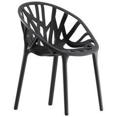 Vitra Vegetal Chair in Basic Dark by Ronan & Erwan Bouroullec