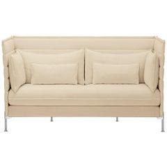 Vitra Alcove 2-Seater Sofa in Cream Credo by Ronan & Erwan Bouroullec