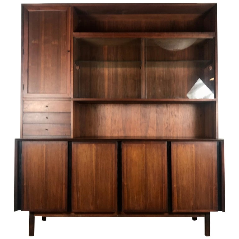 Mid-Century Modern Cabinet / Server by Merton Gershun for Dillingham For Sale