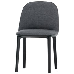 Vitra Soft Shell Side Chair in Dark Grey Plano by Ronan & Erwan Bouroullec