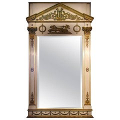 Period Empire Russian Mirror, circa 1810